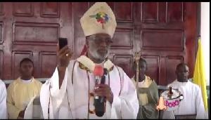 Metropolitan Archbishop of Accra, Most Reverend Charles Gabriel Palmer-Buckle