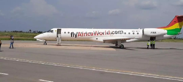 AWA completes its first commercial flight to Ho Airport
