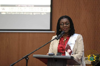 Minister for Communications, Ursula Owusu-Ekuful