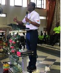 Apostle Eric Kwabena Nyamekye, Chairman of the Church of Pentecost (CoP)