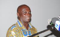 Prof. Kofi Agyekum, Acting Dean of the School of Performing Arts, University of Ghana