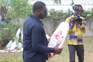 Nana Amponsah urged football fans, especially Kotoko faithfuls to be patient