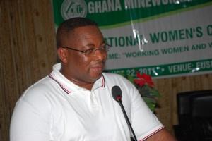 Prince William Ankrah, General Secretary of GMWU