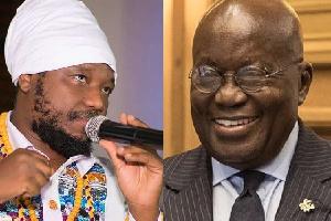 Blakk Rasta and Nana Akufo-Addo
