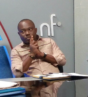 Professor Ransford Yaw Gyampo, Political Science lecturer at the University of Ghana