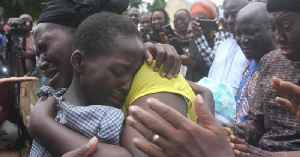 Kidnapped children reunite with their families