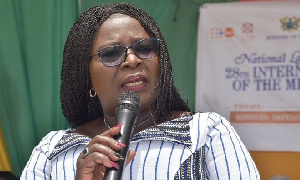 Upper East Regional Minister,  Paulina Tangoba Abayage