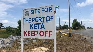 Keta Port site