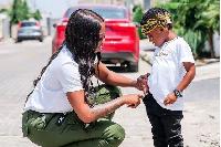 Tiwa Savage and son Jamil
