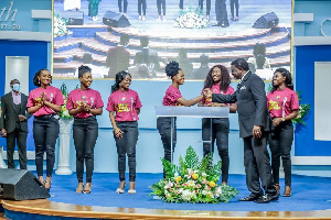 The six finalists were at Perez Chapel Int'l on Sunday to fellowship