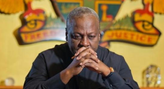 Former President Mahama lost the 2016 elections