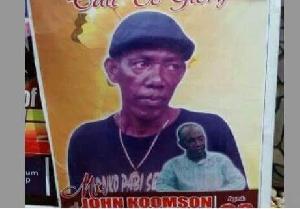 See shameful funeral photos of actor Koo Nimo