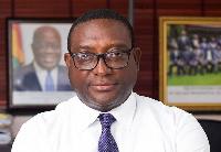 Yaw Buaben Asamoa, Communications Director of the NPP