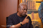 Akufo-Addo not prepared to hand over power peacefully in 2021 - Mahama