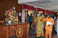 The Brong and Ahafo regional house of chiefs