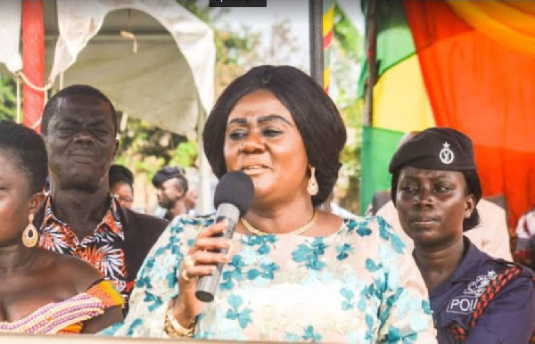 Deputy Minister for Lands and Natural Resources in Charge of Mines, Lawyer Barbara Oteng-Gyasi