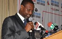President of AGI, James Asare-Adjei