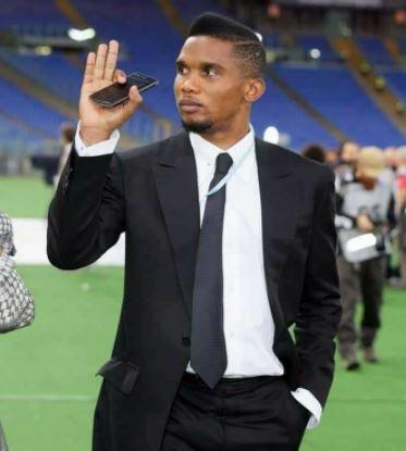 Cameroon legend Samuel Eto'o