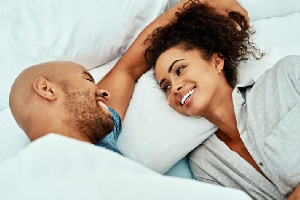 After a while in relationships, couples get a strong understanding of each other's bodies