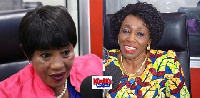 NDC First Vice Chairperson, Anita Desoso and Former 1st Lady Nana Konadu Agyeman Rawlings