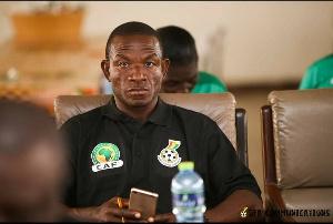 Former Inter Allies assistant coach John Eduafo