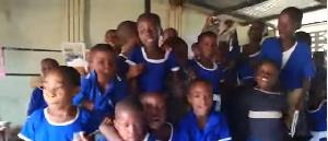 A primary school teacher claims Opanka's song