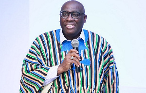 Papa Owusu Ankomah was earlier admitted at the ICU