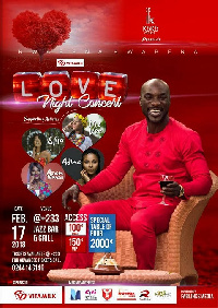 'Vitamilk Love Night,' is an annual event organized by Kwabena Kwabena
