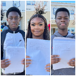 The three are among the top performing kids in the UK