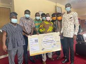 KTU SRC Donates To The Construction Of A New On Campus Hospital