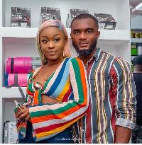 Efia Odo and Kweku Revloe