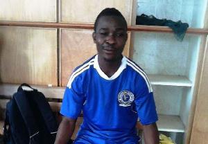 Berekum Chelsea striker Kofi Owusu