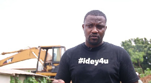 John Dumelo, Actor and Aspiring Member of Parliament for Ayawaso West Wuogon