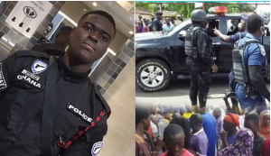 The late Constable Emmanuel Osei was shot dead during the robbery attack
