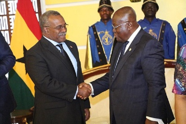 4 new envoys present letters of credence to President Akufo-Addo
