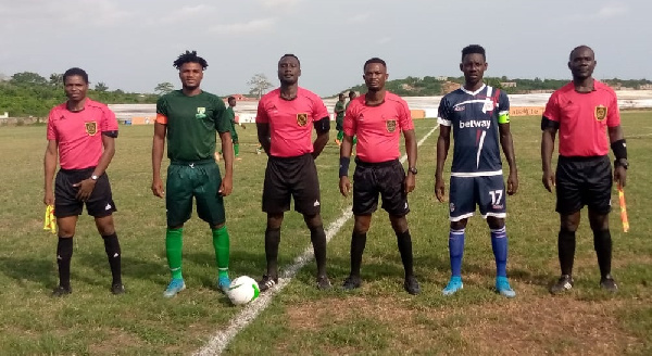 Match Report: Elmina Sharks FC 1-1 Liberty Professionals
