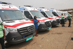 307 ambulances were deployed to the constituencies