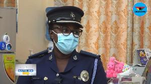 Sheilla Kessie Abayie-Buckman, Director of Public Affair, Ghana Police Service