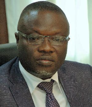 Deputy Sports Minister,  Vincent Oppong Asamoah