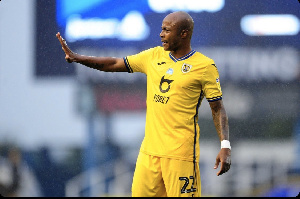 Swansea City Vice captain, Andre Dede Ayew