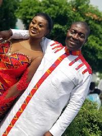 Nana Akomea and his wife, Eno Akua Awuah-Kyerematen