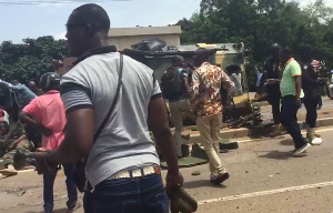 The injured soldiers have been rushed to the Bolgatanga Regional Hospital
