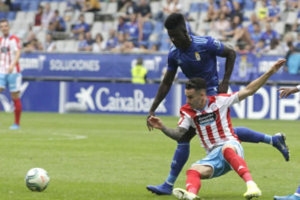 Real Oviedo forward Samuel Obeng