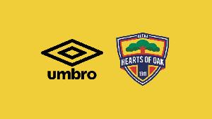 Umbro are Hearts of Oak's kit sponsors