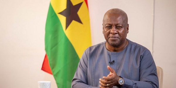 Mahama reacts to military invasion in Parliament