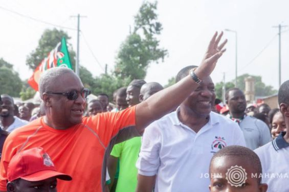 The group has warned that it will oppose John Mahama should he contest the NDC flag bearership