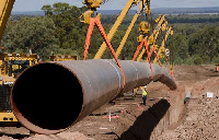 The country needs a reverse flow system to transport natural gas to other parts of the country