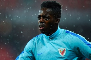 Inaki Williams was the subject of racist abuse from home supporters