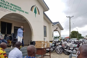 Volta NDC supports constituency offices