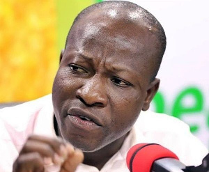 James Kwabena Bomfeh, CPP's General Secretary